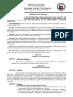 O13032-2016 (Integrated Zoning Regulations of Cagayan de Oro)
