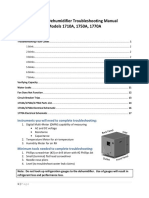 Dehumidifier Technical Manual
