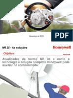 Workshop NR 35 (Nov 2015)