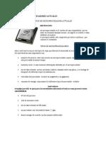 Tipos de Microprocesadores Actuales