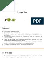 Ciclodextrinas