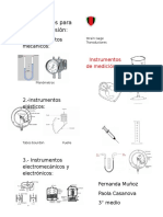 Instrumentos de Medición Dripticoo