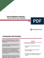Internal Medicine Pathway