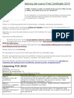Cómo Aprobar El Listening Del Nuevo First Certificate 2015