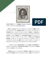 Biografía de Jacobo Arminio