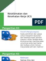 Dasar-Dasar Keselamatan Dan Kesehatan Kerja (K3)
