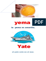 Laminas Leccion Yema