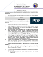 O10536-2007 (Approving the Comprehensive Children's Welfare Code of CdOC)