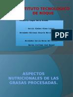 Aspectos Nutricionales de Las Grassas