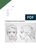 Digitopuntura Facial