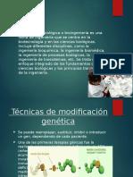 Biotecnologia aplicada en La Medicina