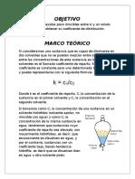 Practica III Coeficiente de Distribucion