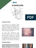 Albañilería (Generalidades, Definiciones & Componentes)