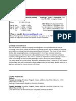 Syllabus - Wasserman Financial Accounting Fall 2016