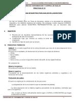 PRÁCTICA N° 01 SUELOS Y TOMA DE MUESTRAS PARA ANÁLISIS EN LABORATORIO