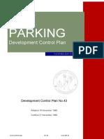 Development Control Plan 43 - Car Parking - November 1998