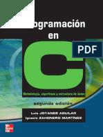 Programacion en c y Estructura de Datos Joyanes 2da Ed