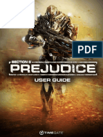 Section 8 Prejudice User Guide