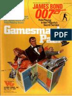 [VG35005] James Bond RPG - GM Supplement - Gamemaster Pack