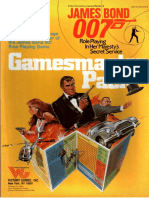 [VG35005] James Bond RPG - GM Supplement - Gamemaster Pack