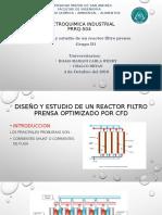 Filter press reactor