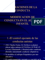 Alteraciones de La Conducta