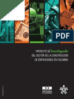 Proyecto de Investigación Del Sector de La Construcción de Edificaciones en Colombia