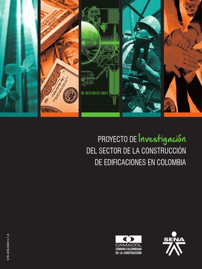 Proyecto de Investigación Del Sector de La Construcción de ...