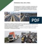 Importancia Vial en El Peru