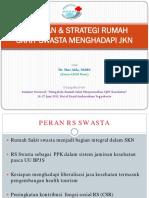Kesiapan Strategi Rumah Sakit Swasta Menghadapi Jkn