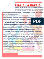 FIESTA PATRIAS Periodico Mural
