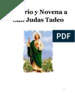 Novena Y Rosario a San Judas Tadeo