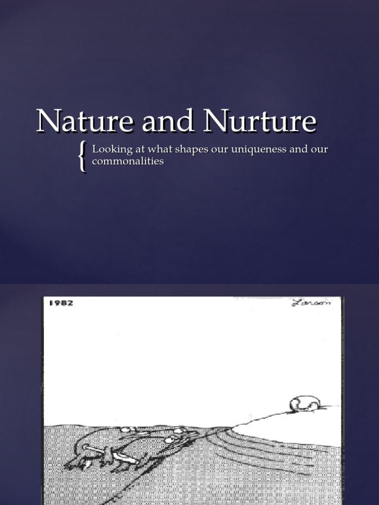 sexual development combination nature and nurture