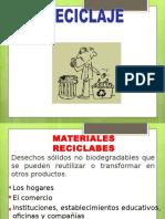 Diapositivas Reciclaje y Compost