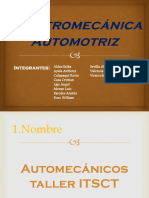 Electromecánica Automotriz Logotipo