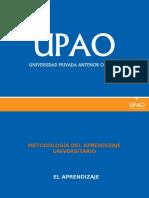 metodologia del aprendisaje universitario