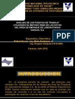 Presentacion Método REBA Aplicado Al Campo