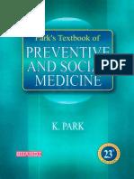 K. Park-Park's Textbook of Preventive and Social Medicine-Banarsidas Bhanot (2015) (1)