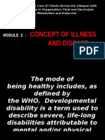 Concept of Health and Illness
