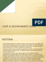 Café & Restaurante Capri Presemn