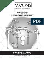 SD1000 Manual