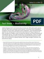 homebush biodiversity