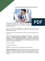 Qué Son Las Normas de Información Financiera