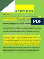 Online Term Plan