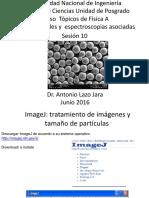 CNEA_Microscopia Electronica de Barrido Diametro Medio 17 062016