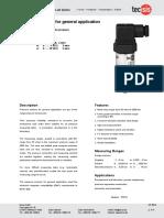 TECSIS Pressure Transmitter