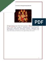 Nav Ratri Nine Forms of Durga