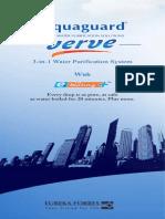 Aquaguard Verve User Manual