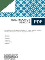 ELECTROLITOS SERICOS