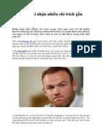 Rooney Phải Nhận Nhiều Chỉ Trích Gần Đây